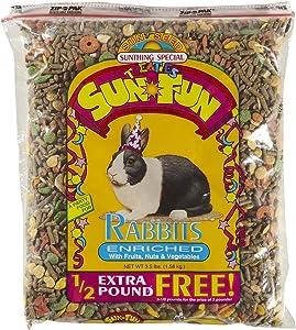 Sunseed Sun Fun - Rabbit - 3.5 Lbs