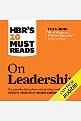 HBR's 10 Must Reads on Leadership Audible Audiobook
