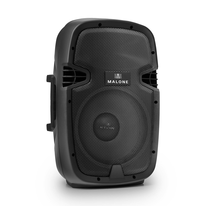 Malone Set 2x Malone Casse attive altoparlanti diffusori PA woofer da 38,10cm , 760W Max 4 Ohm 96dB, adatte anche come monitor 15