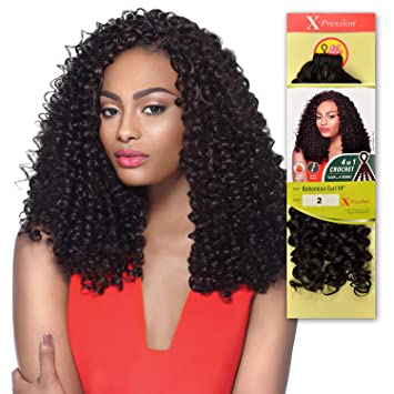 Amazoncom Outre Synthetic Hair Crochet Braids X Pression Braid 4