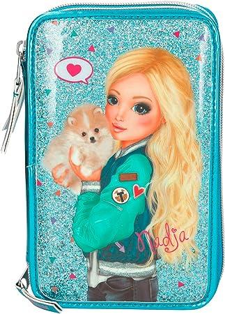 Top Model- Estuche Triple, Color Turquesa (008990A): Amazon.es: Juguetes y juegos