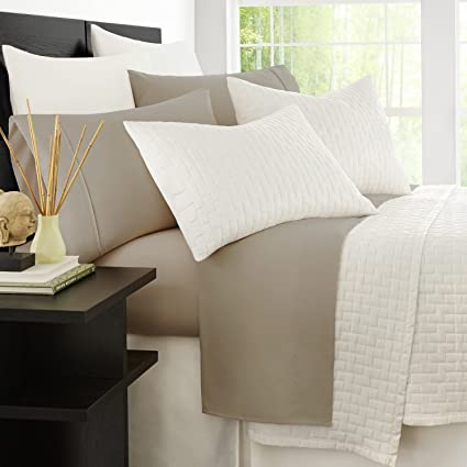 Lovely Zen Bamboo Luxury 1500 Series Bed Sheets   Eco Friendly, Hypoallergenic And  Wrinkle Resistant
