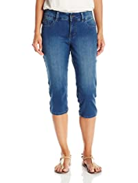 65b15032 Riders by Lee Indigo Women's Ultra Soft Denim Capri