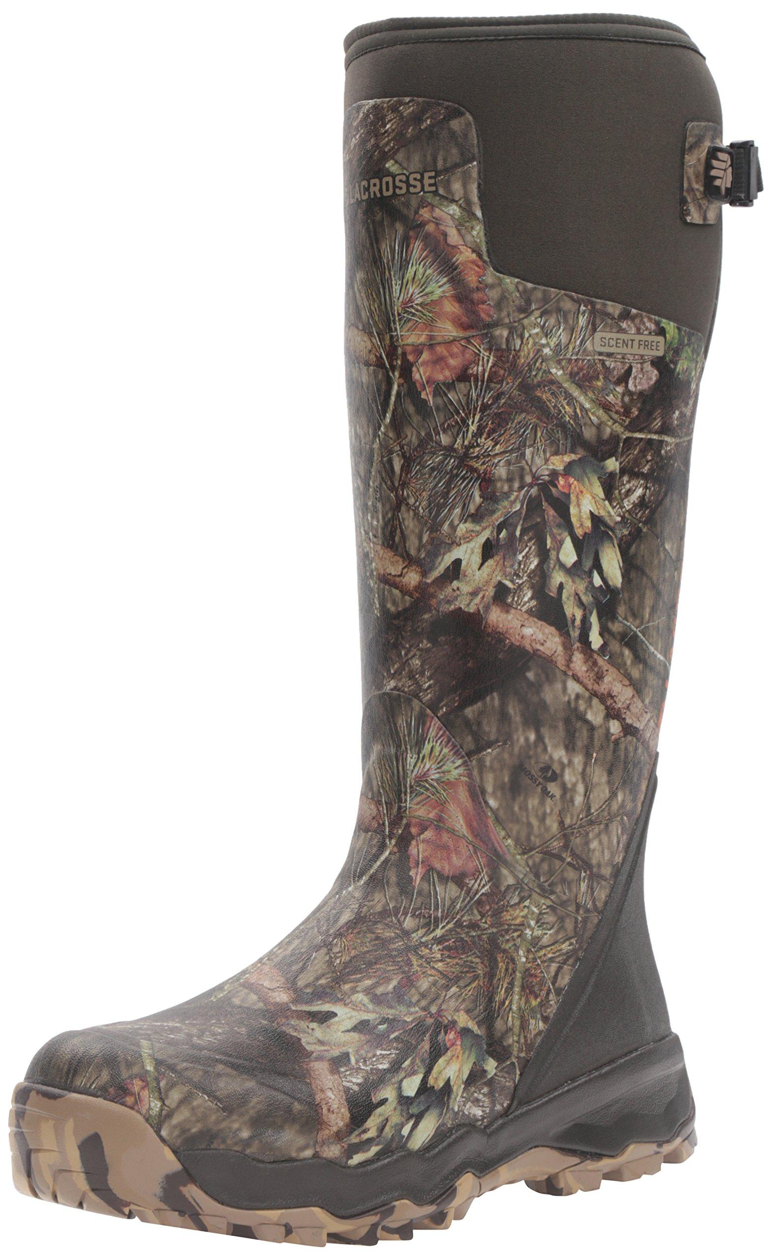 LaCrosse Men's Alphaburly Pro 18'' Hunting Shoes, Mossy Oak Break up Country, 9 M US