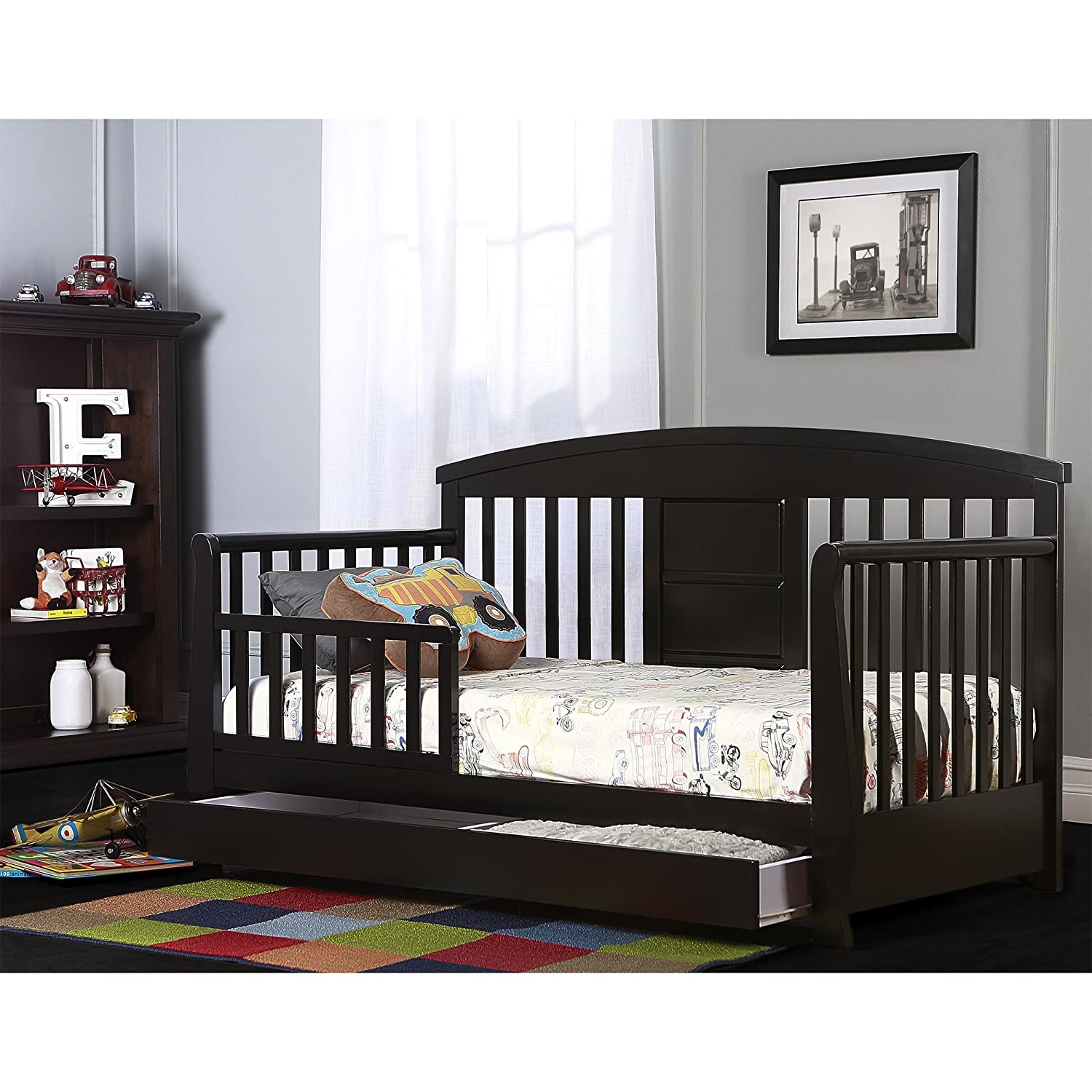 Dream On Me Deluxe Toddler Day Bed Natural