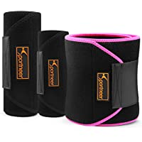 Sportneer Sweat Slim Belt Neoprene Fat Burning Sauna Waist Trainer - Promotes Healthy Sweat, Weight Loss, Lower Back Posture(1 pic)