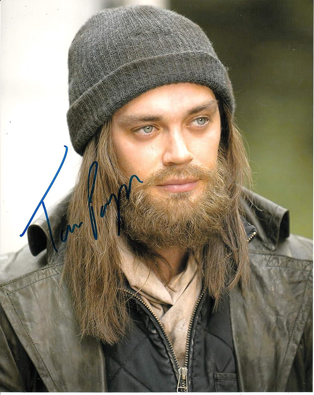 Signing Dreams Autographs Tom Payne firmó 10x8 en color Foto - The Walking Dead - El médico - Distribuidor 100% en persona - Registrado UACC #242