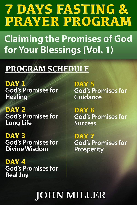 7 Days Fasting & Prayer Program: Claiming the Promises of