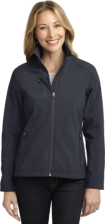 Port Authority Womens Welded Soft Shell Jacket/_Batlshp Grey/_Small