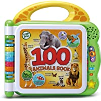 LeapFrog 100 Words Animals Book: English&French - Interactive Educational Animals Book for Kids, billingual Book- 609543