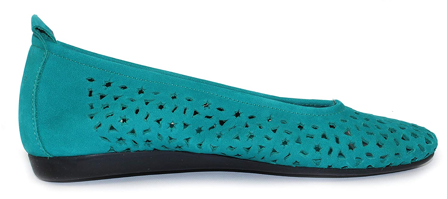Teal Size 37 M Arche Womens Lilly in Mint Nubuck