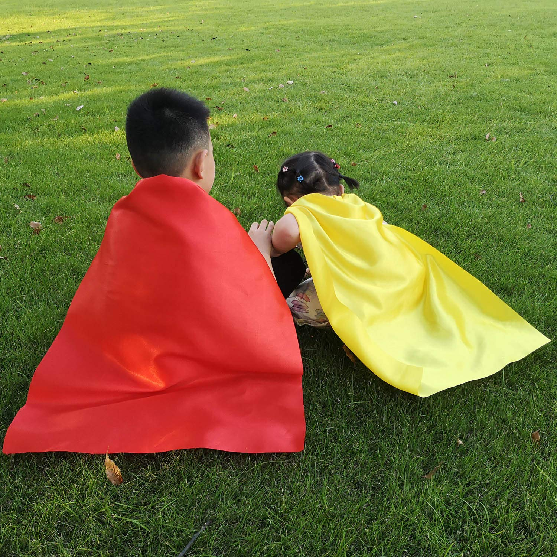 Amazon.com: ADJOY Kids Superhero Capes and Masks with Large ...