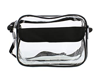 Amazon.com : Clear Purse, Small Medium & Large, NFL Stadium ...