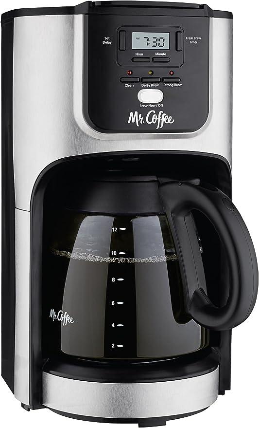 Sr. Cafetera 12 Taza cafetera programable con brew Selector de ...