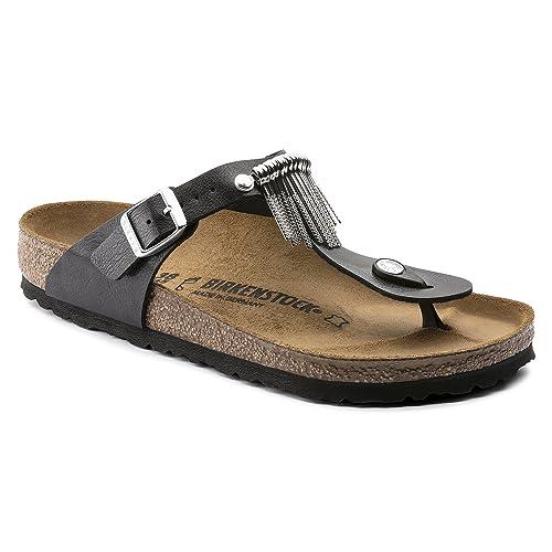 46211083de83 Gizeh Fringe Birko-Flor Graceful Licorice Fringe  Amazon.ca  Shoes    Handbags