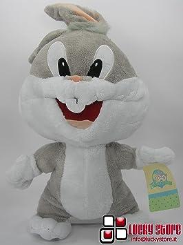 Looney tunes - baby looney tunes bugs bunny peluche 35 cm velluto coniglio originale - ltp35v