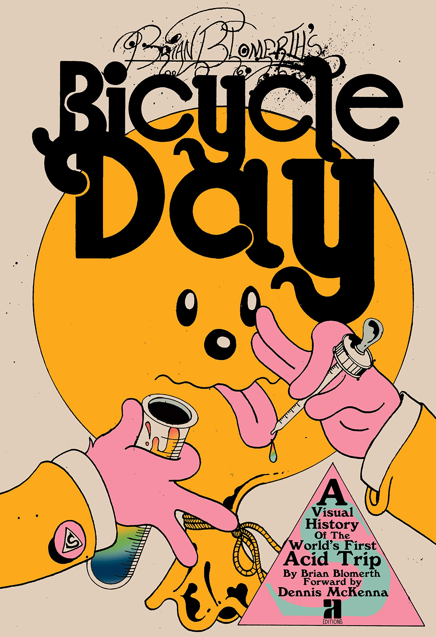 Brian Blomerth's Bicycle Day by Anthology Editions