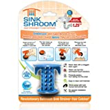 SinkShroom The Revolutionary Sink Drain Protector Hair Catcher/Strainer/Snare, Blue