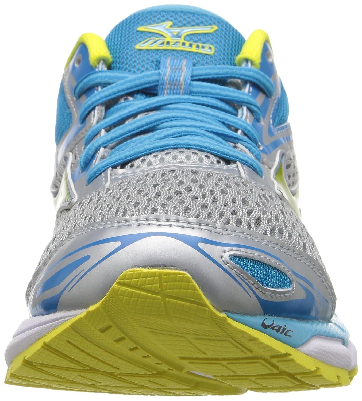 Mizuno Women's Wave B01H3EF8PC Inspire 13 Running Shoe B01H3EF8PC Wave 7 D US|Grey/Yellow abc4ce