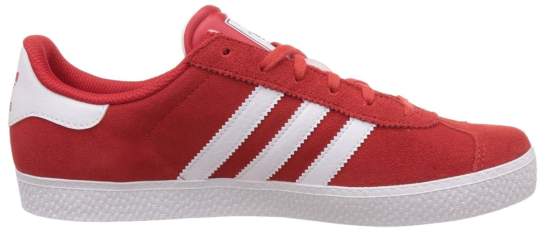 Adidas gazzella 2, i formatori unisex, rosso (red s16 st / ftwr rigoglioso
