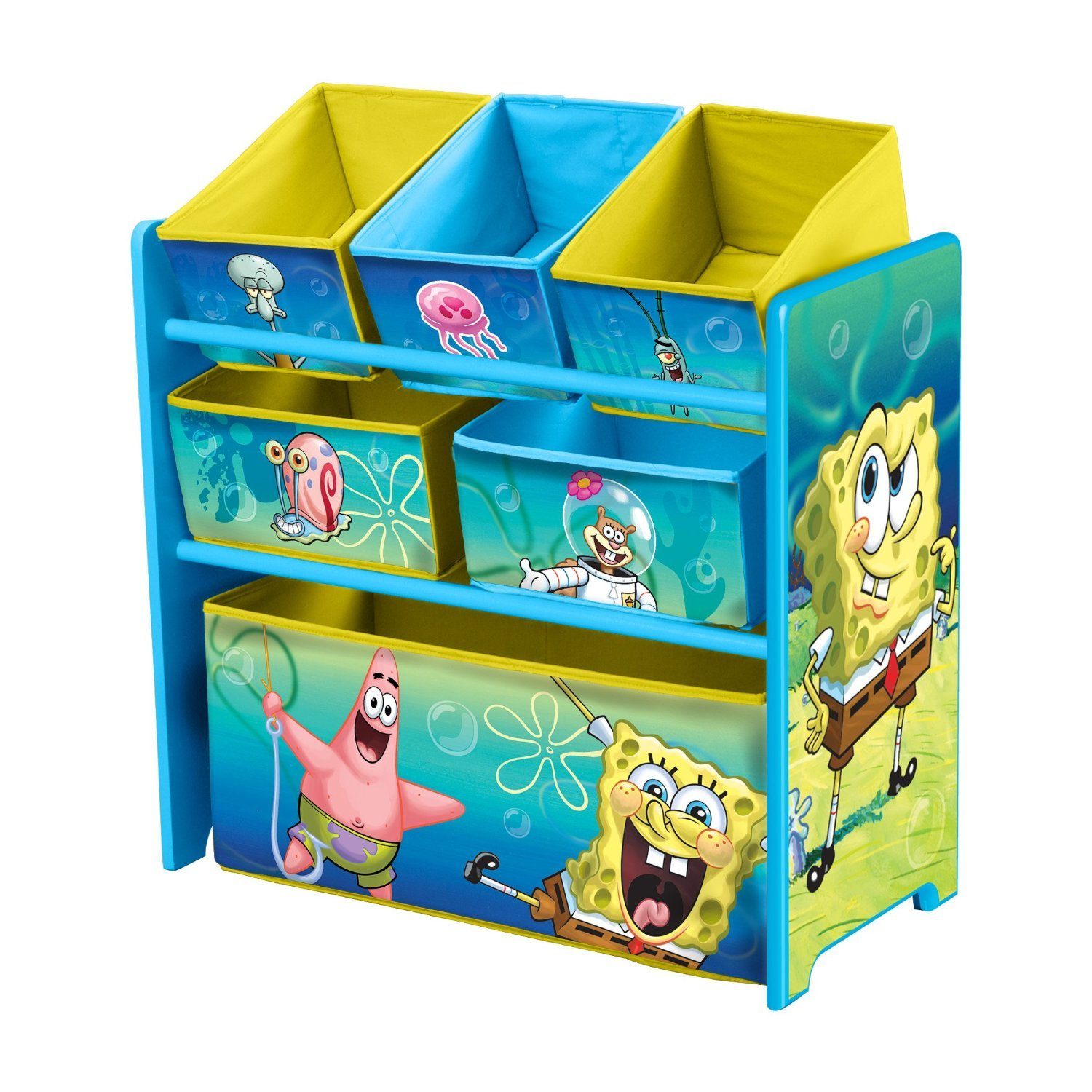 Amazon.com: Spongebob Room In A Box Bundle (Bed, Organizer, Table, Chairs):  Toys U0026 Games
