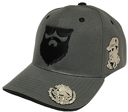 9b59afe5be3 EL Señor DE LA barba EL Chapo A Lada Aguila EN LA VISERA 3 Logos Hat ...