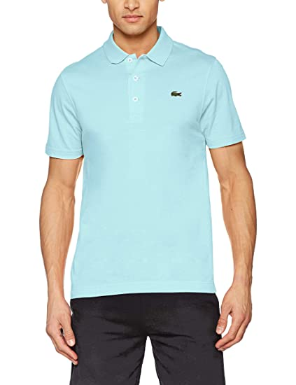 57563d84 Lacoste Sport Men's L1230 Polo Shirt, Bleu (Aquarium 07h F8r), X-