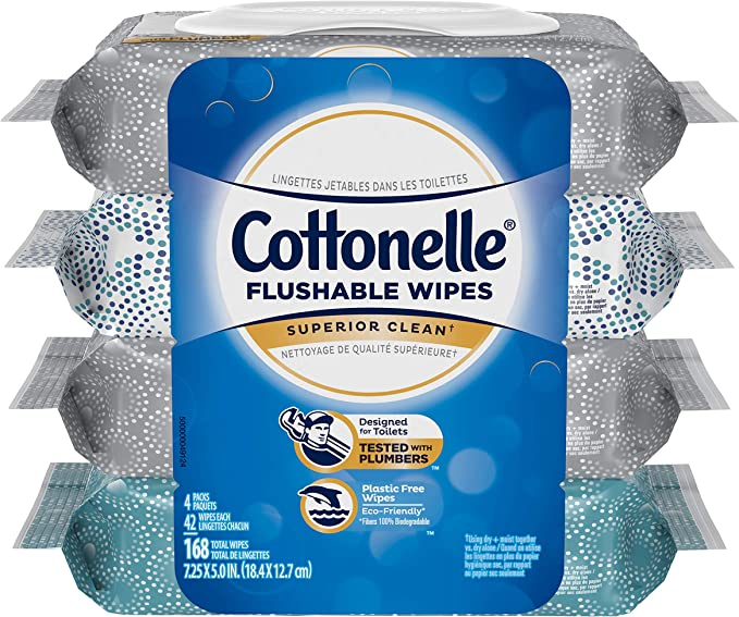 Best Cottonelle wet wipes