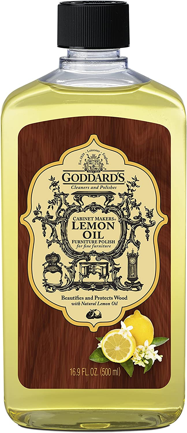 Goddard's Cabinet Makers Lemon Oil Furniture Polish – 16 oz