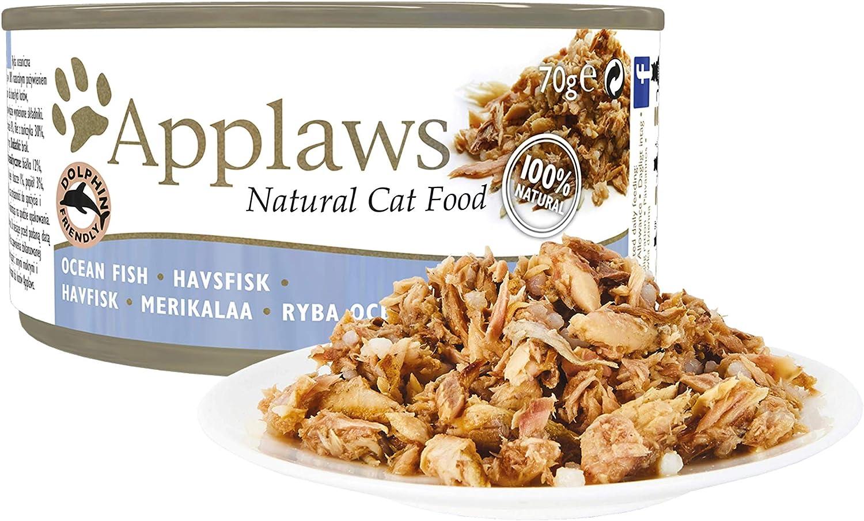 Applaws Cat pescado 24x70gr