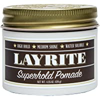 Layrite Pomade, Super Hold, 4.25 Ounce