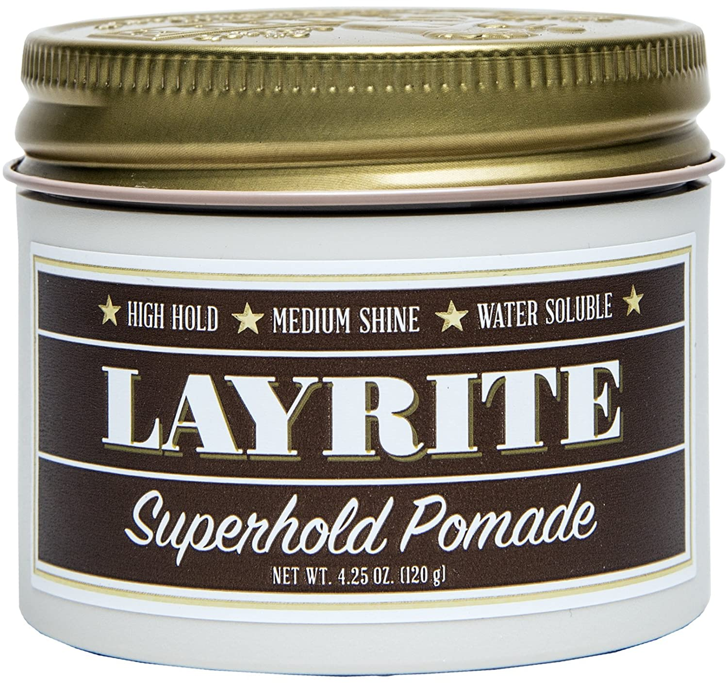 Amazon.com: Layrite Superhold Pomade, 4.25 oz: Premium Beauty