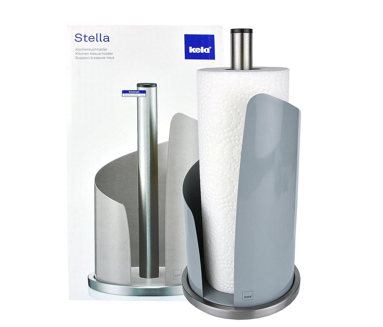 MamboCat Kela Küchenrollenhalter STELLA aus Edelstahl/Metall in ...