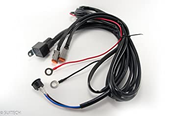 81PcZSoY1zL._SX355_ amazon com double deutsch connector wiring harness kit 2 pin plug and play wiring harness at bayanpartner.co