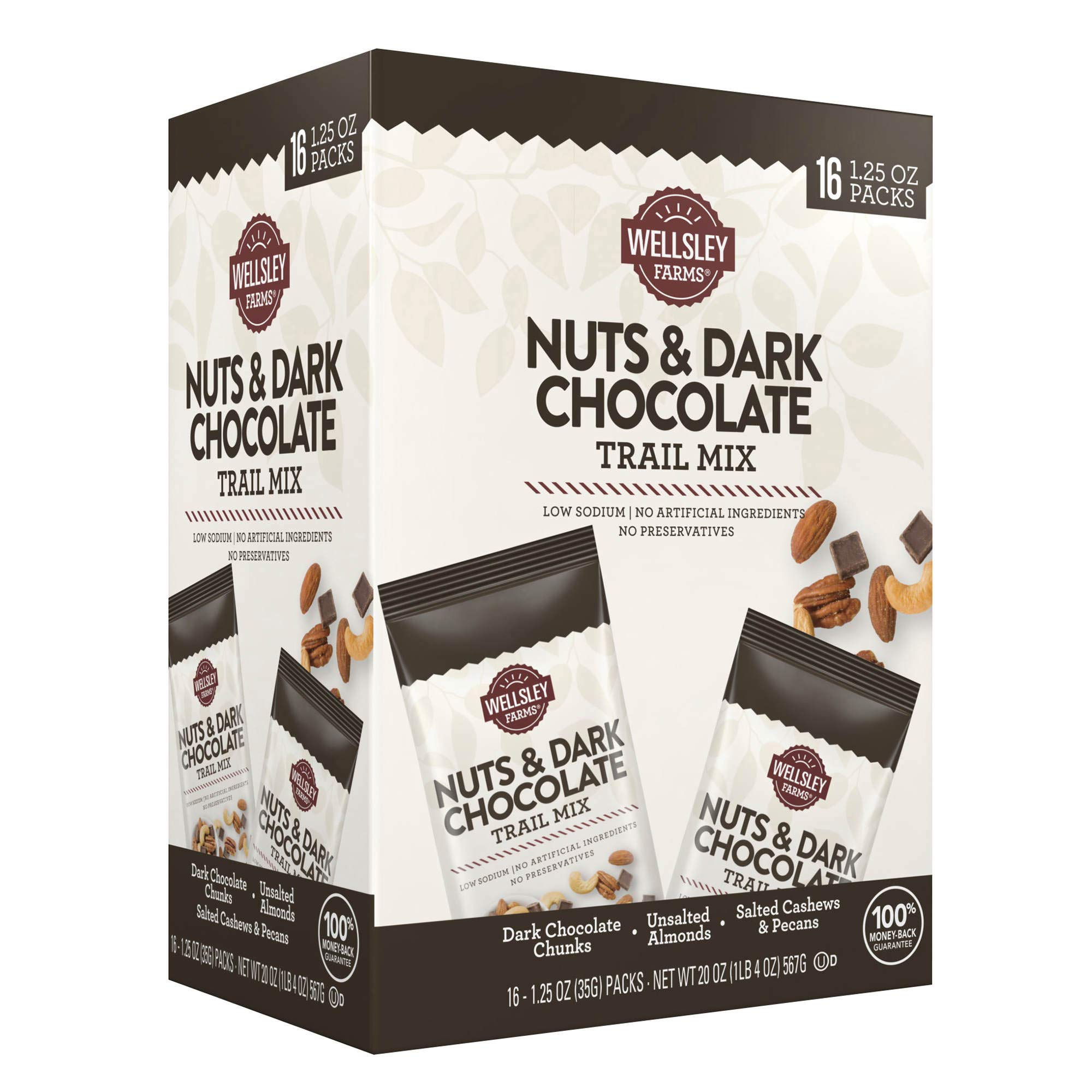 Wellsley farms nuts&dark chocolate trail mix