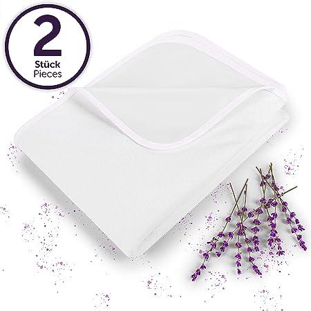 Blumtal - Protector de colchón Impermeable, Doble e Individual, Transpirable de algodón (Diferentes tamaños) (70 x 140 (2 Set)): Amazon.es: Hogar