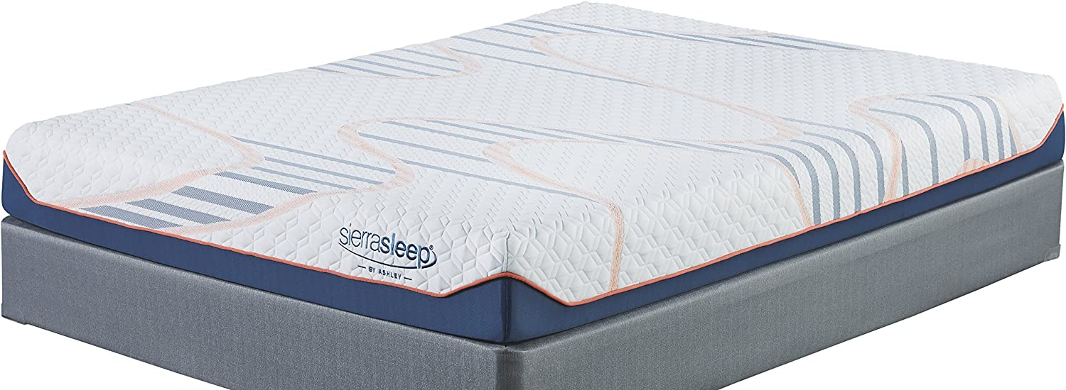 Ashley Furniture Signature Design - Sierra Sleep - MyGel Queen Mattress - 8 inches - White