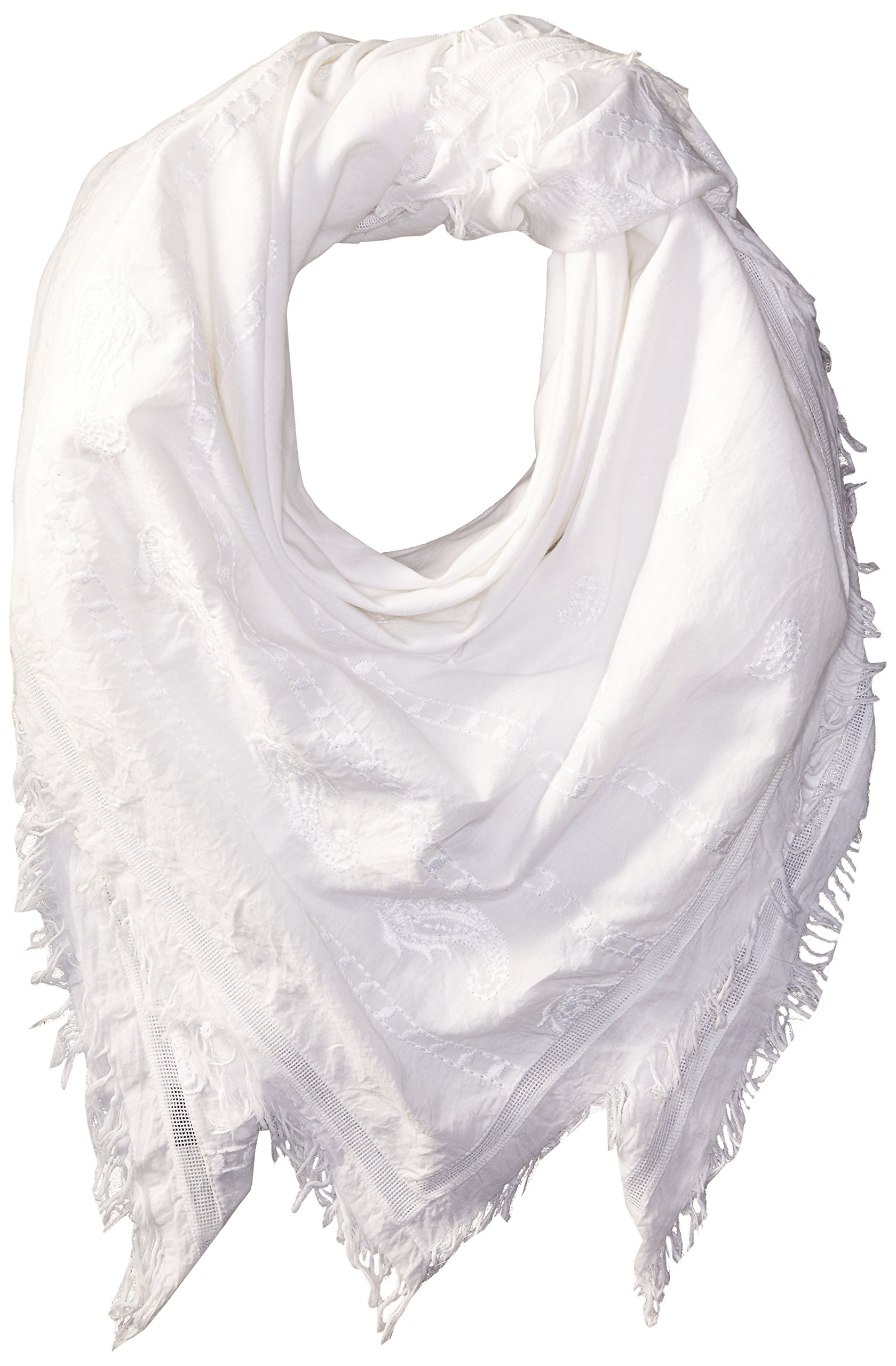 French Connection Women's Clarissa Scarf, Summer White, O/S