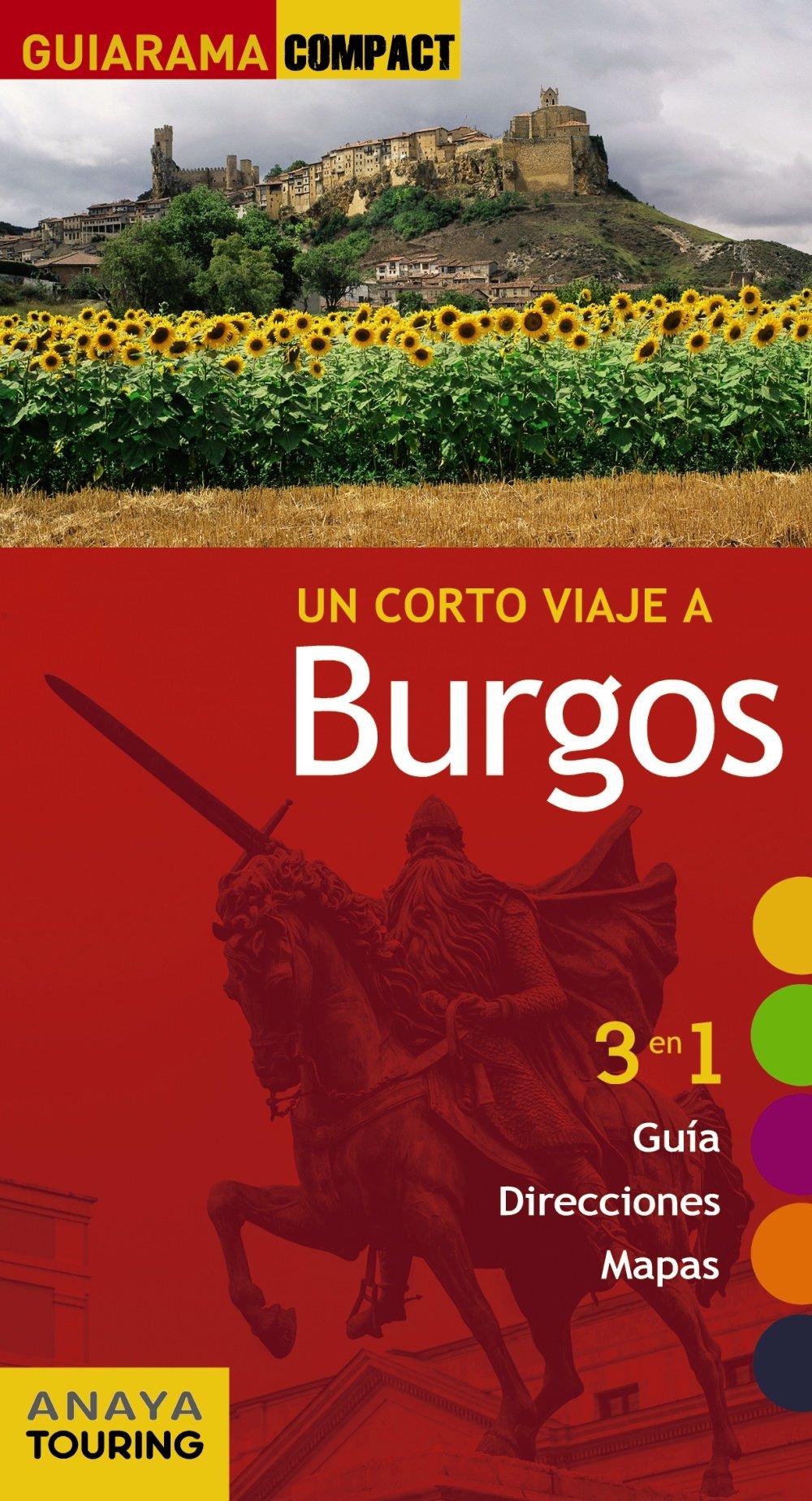 Burgos (Guiarama Compact - España): Amazon.es: Anaya Touring, Izquierdo, Pascual: Libros