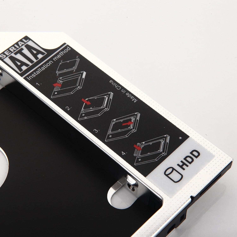 DY-tech 2nd SATA Hard Drive HDD SSD Caddy For Samsung RV410 RV411 RV415 RV420 TS-L633C
