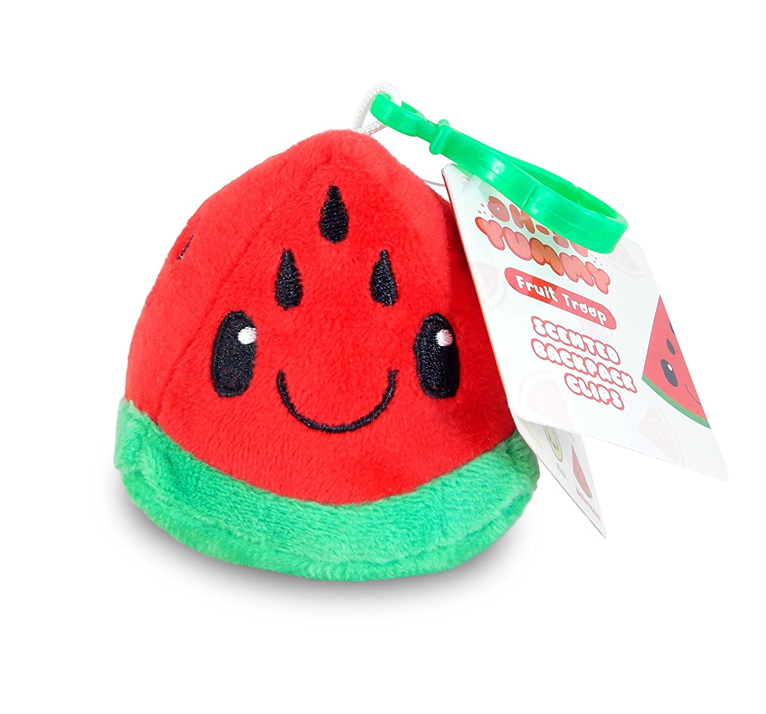 Scentco Fruit Troop Backpack Buddies Watermelon Scented Plush