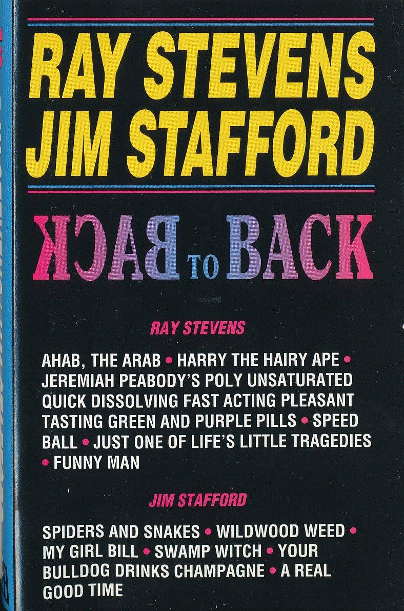 Back to Back Ray Stevens/Jim Stafford