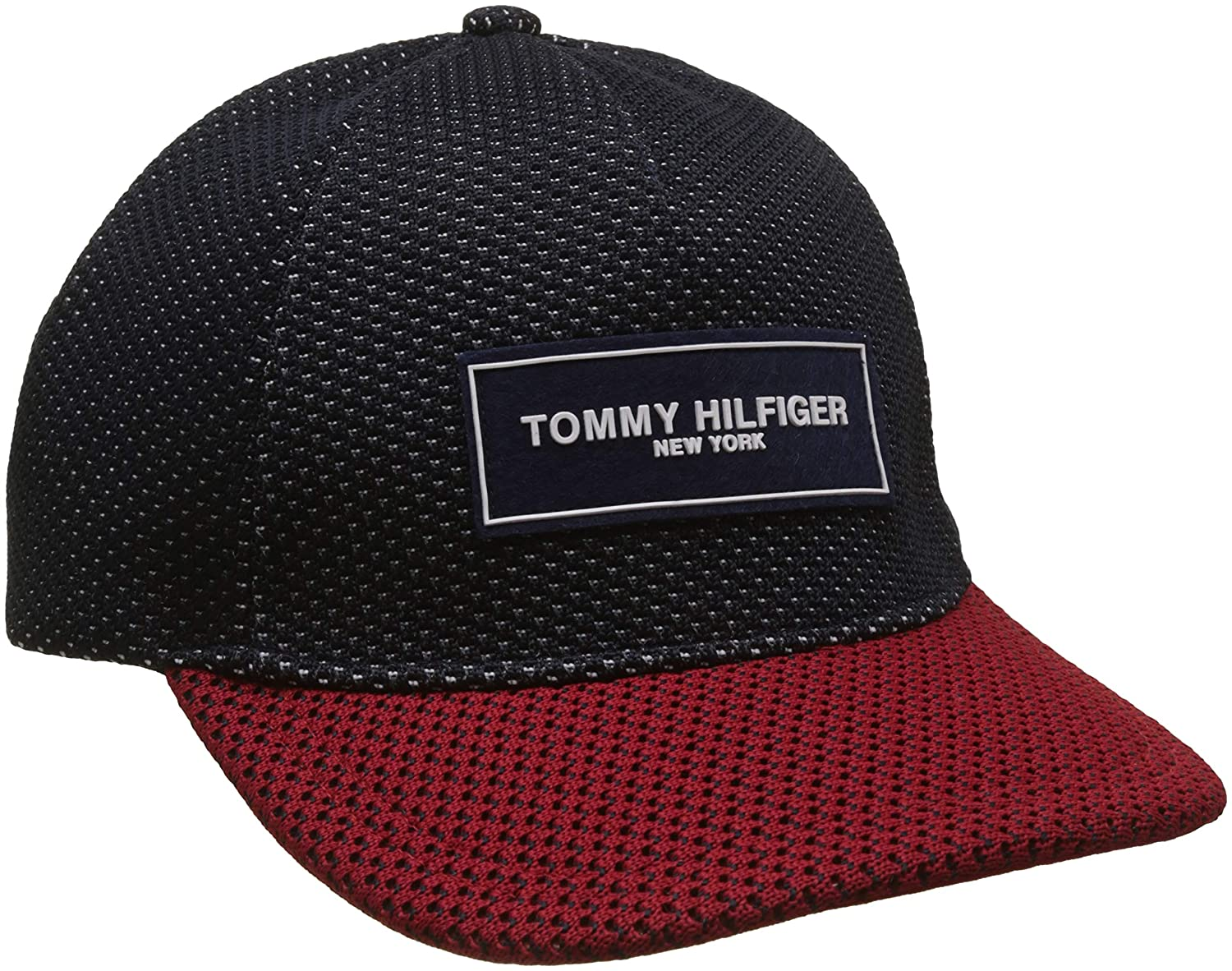 Tommy Hilfiger Fly Knit Cap Gorra de béisbol, Azul (Corporate 901 ...