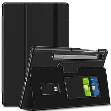 ELTD Funda Carcasa para Samsung Galaxy Tab S6 SM-T860/T865, Slim Frosted Smart Protectora de Cuero PU Case Cover Funda para Samsung Tab S6 10.5 ...