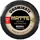 Dominate Matte Waxx Hair Styling Wax With Keratin, Salon Series, Strong Hair Hold With A Super-Dry Natural Look, 85g