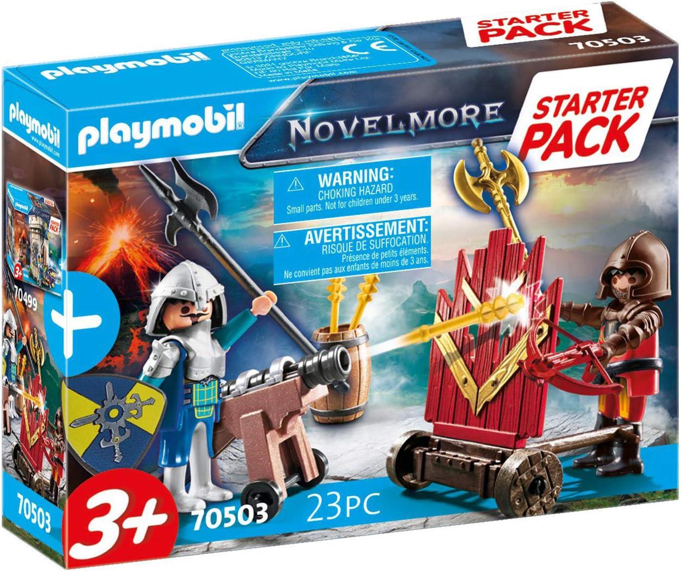 PLAYMOBIL Novelmore 70503 Novelmore Set Adicional, para niños a Partir de 3 años