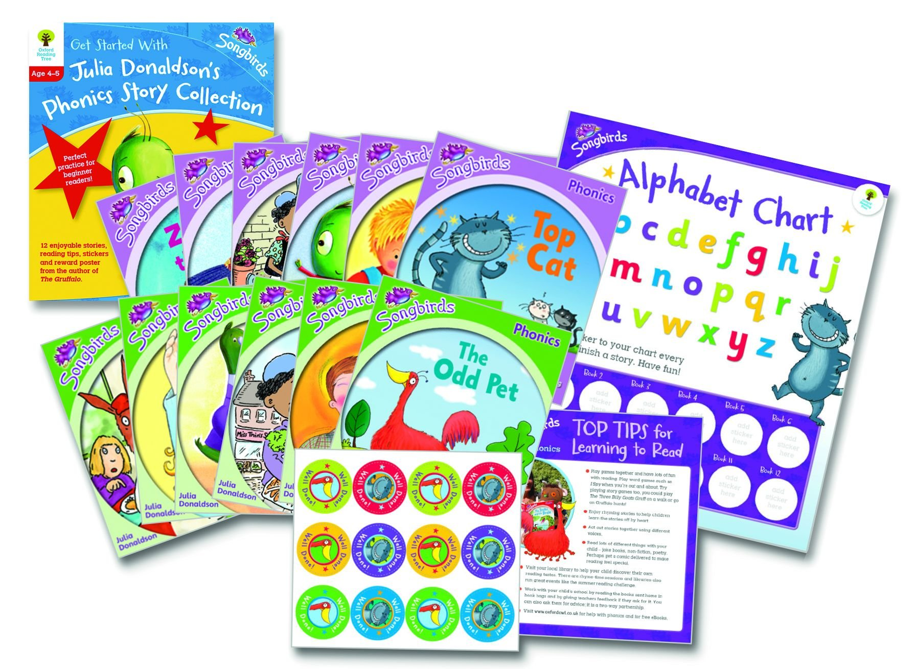 Oxford Reading Tree Songbirds: Levels 1+ and 2: Get Started With ...