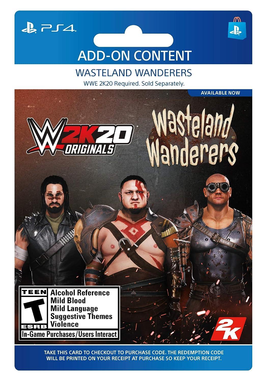 Amazon Com Wwe 2k20 Originals Wasteland Wanderers Ps4 Digital Code Video Games