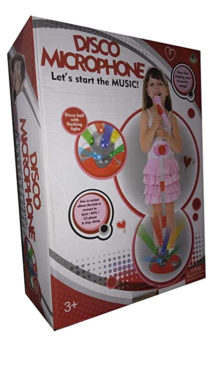 Buy RGB Group Karaoke Mic Set with Disco Light for Kids 3+ Online at