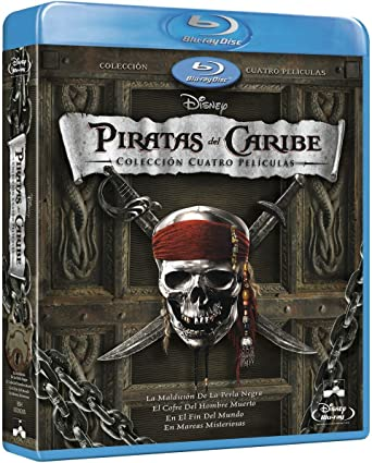 Pack: Piratas Del Caribe 1-4 + Bonus [Blu-ray]: Amazon.es: Johnny ...